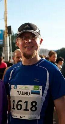 Tauno Toompuu maratonil, foto: isiklik arhiiv.