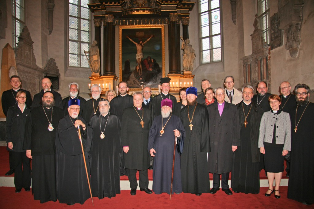 Luth. World Fed_Orthodox_dialoque_in_Tallinn.08.05-11.05.2014.Lutheran Archbishop Andres Poder`s reception  in  St. Mary`s Cathedral  09.05._photo_by_Arh