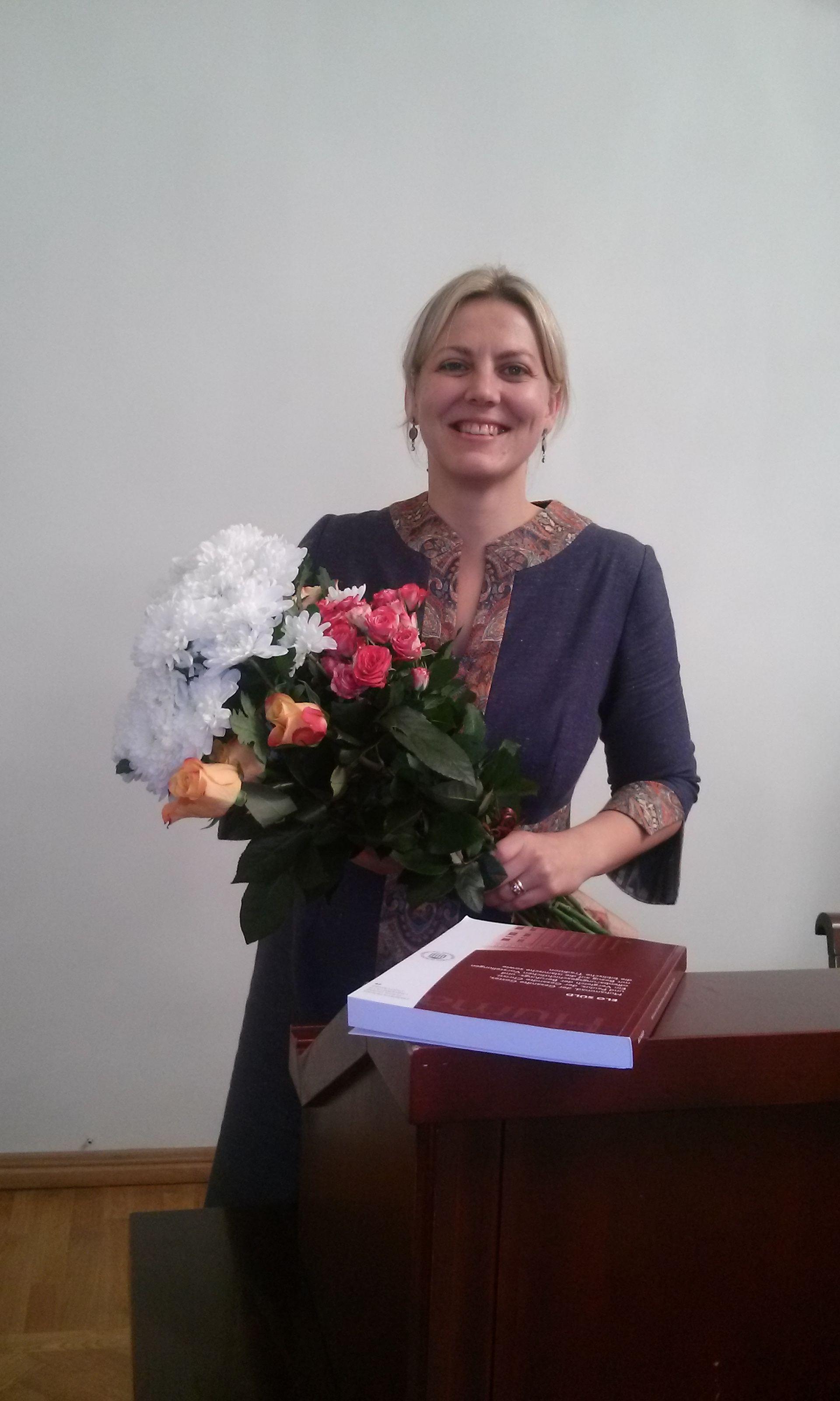 Värske doktor Elo Süld, foto: Urmas Nõmmik