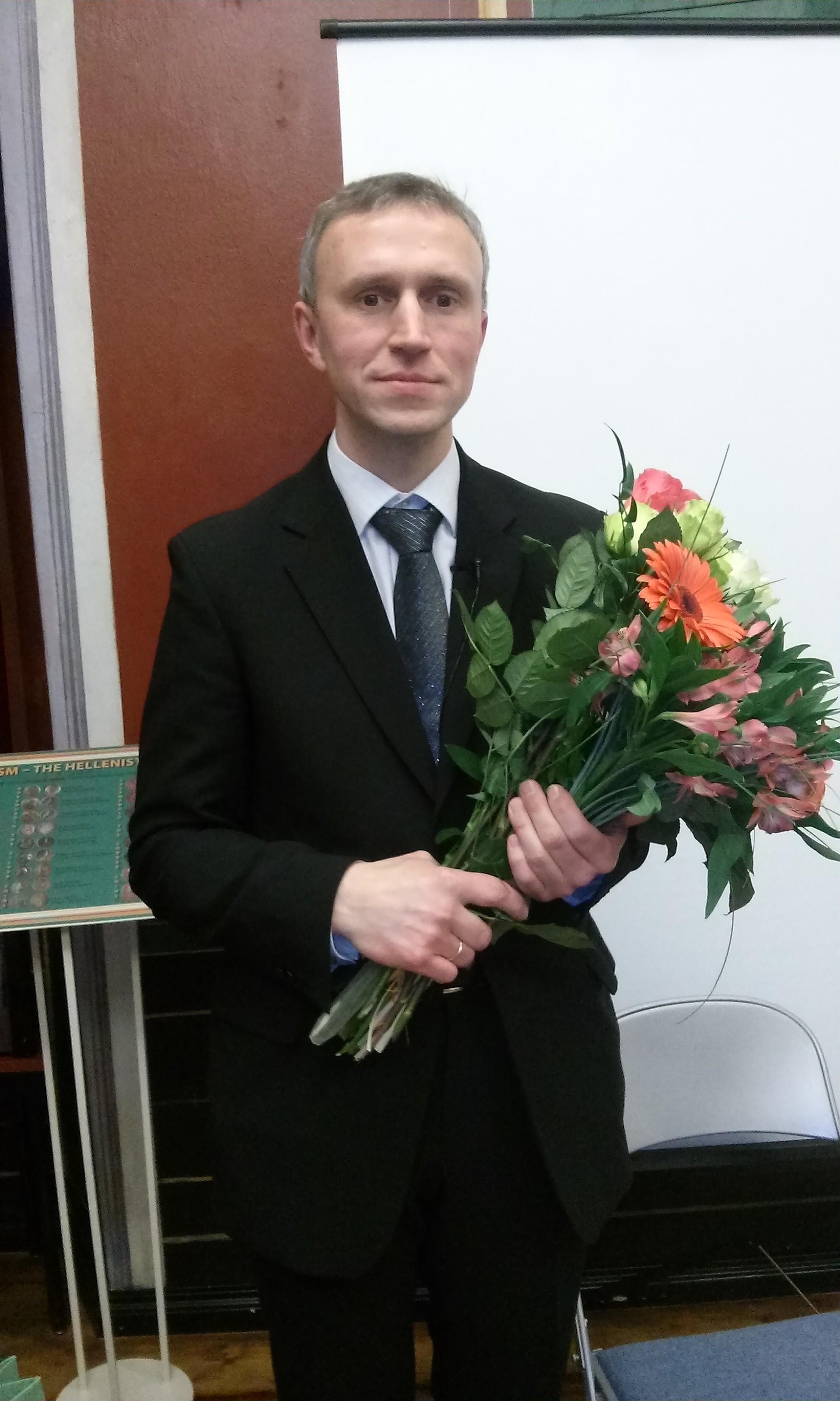 Värske doktor Jaanson, foto: Urmas Nõmmik