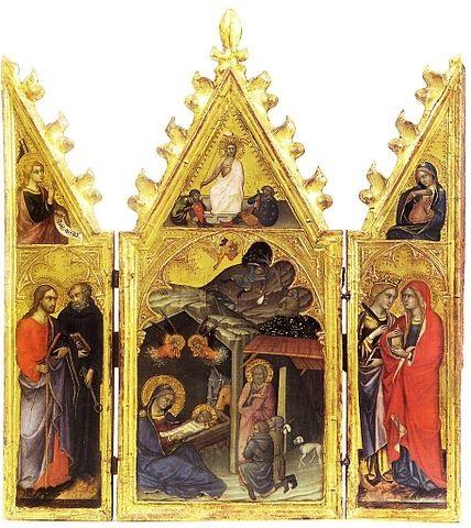 kristuse sünni triptühhon