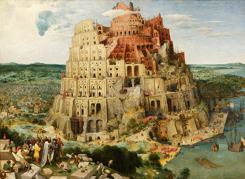 "Pieter Bruegel Vanem ""Paabeli torn"""