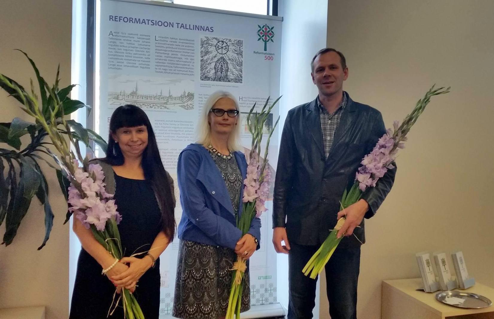 Näituse koostajad: Sigrid Põld, Riina Sildvee ja Janis Tobreluts.
