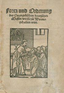 Wormsi saksakeelne missa 1524